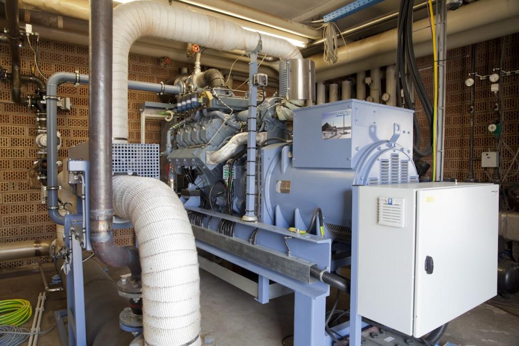 Biogasanlage der Familie Reinbold