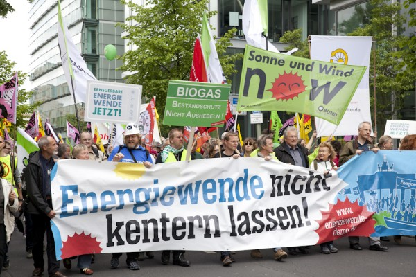 "Demonstration ""Energiewende nicht kentern lassen"" am 10.Mai 2014 in Berlin"