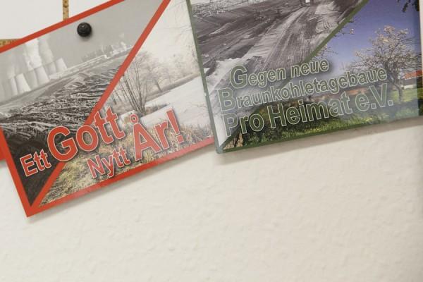 Postkarte an schwedische Abgeordnete