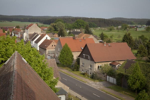 Atterwasch seen from the church tower