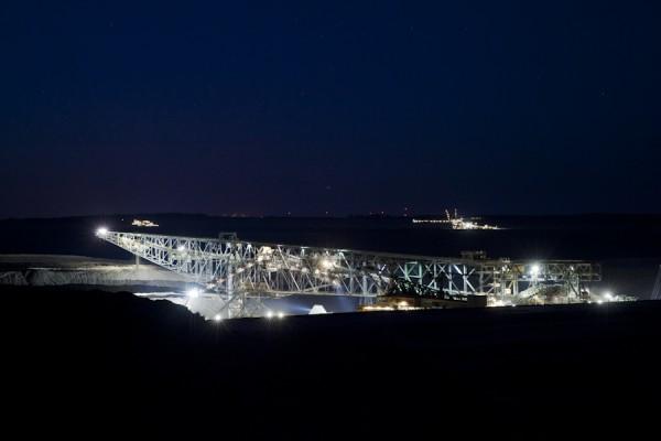 Förderbrücke F60 im Tagebau Welzow