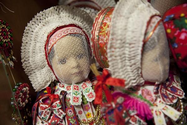 sorbischen Trachten für Puppen